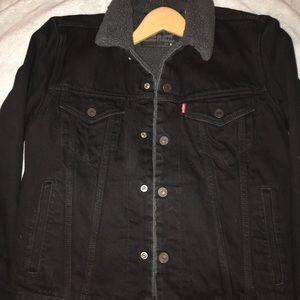 Original Levi's Sherpa Denim Jean jacket
